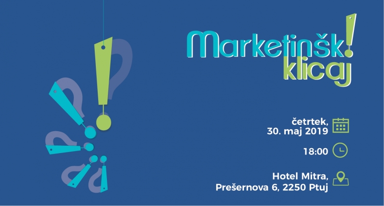 Podjetniška konferenca Marketinški klicaj! 2019